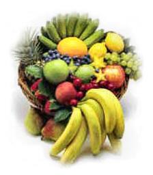 fiber in fruit